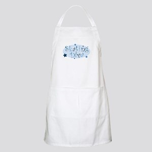 """Skating Diva"" [blue] BBQ Apron"